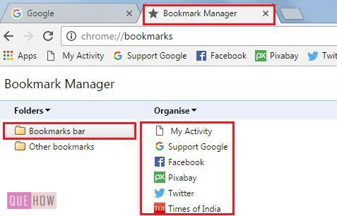 How To Delete Bookmarks In Google Chrome With Pictures