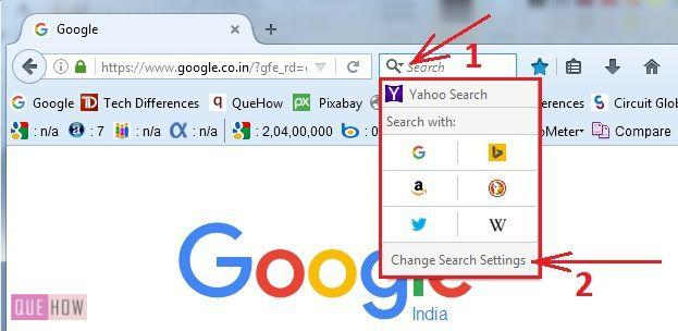How to Change the Default Search Engine in Mozilla Firefox