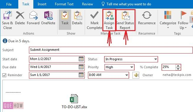 how-to-create-or-assign-a-new-task-in-ms-outlook-2016-step-4