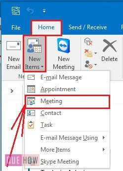 how-to-schedule-a-meeting-in-ms-outlook-2016-step-1