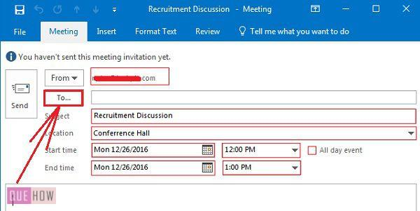 how-to-schedule-a-meeting-in-ms-outlook-2016-step-2