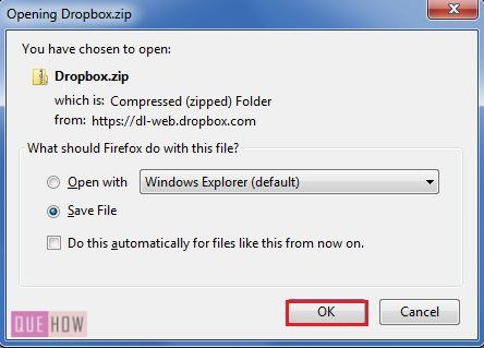 How to download files/folders from Dropbox? (with Pictures) - QueHow