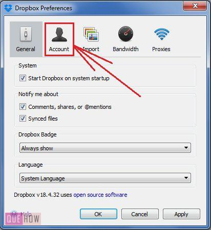 how-to-selectively sync. folders in Dropbox on Computer-step-4