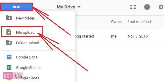 How-to-upload-and-download-file-in-Google-Drive-step-1
