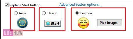 replace start button