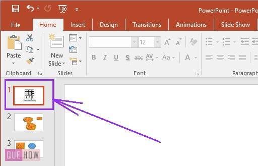 How to add notes in PowerPoint 1
