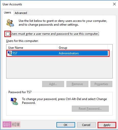 How to auto login windows 10-3