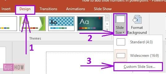how to add slide numbers in powerpoint 4