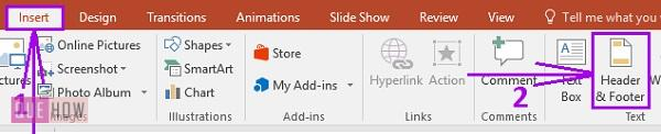 how to add slide numbers in powerpoint 6