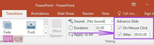 how to set slide timing in powerpoint - 2