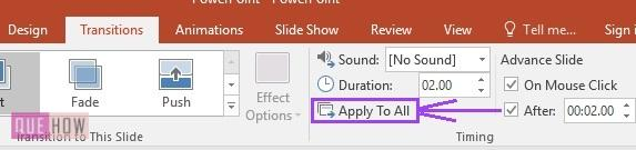 how to set slide timing in powerpoint - 6