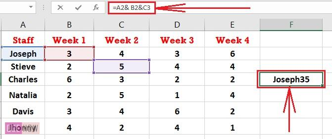 How to Concatenate in Excel 10