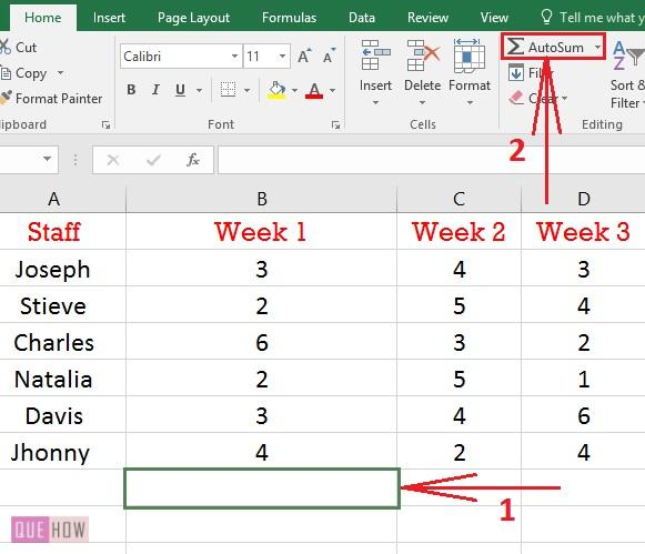 How to add in Excel-03