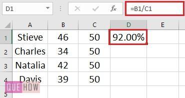 Percentage of Whole 3
