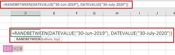 generate random number in excel 6