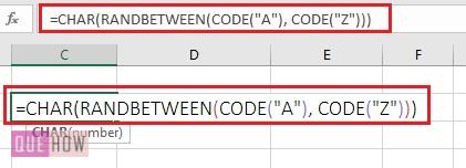 generate random number in excel 9