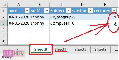 Create Pivot Table in Excel 11