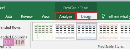 Create Pivot Table in Excel 12