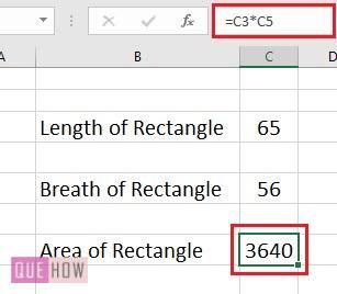 Hide Formula in Excel - 1