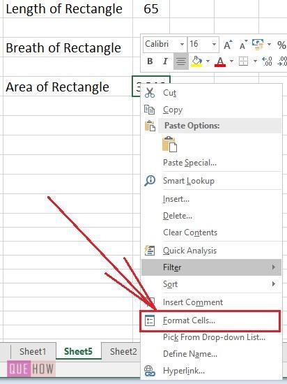 Hide Formula in Excel - 2