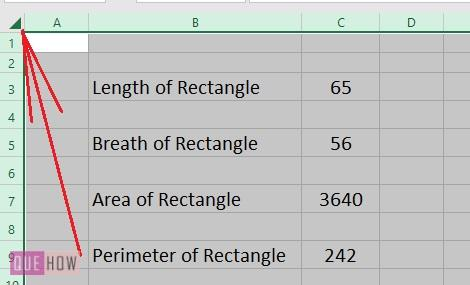 Lock Formulas or a Cell in Excel - 1