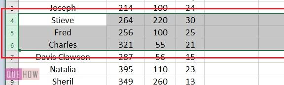 Merge Cell in Excel 14