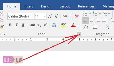Change Default Font in MS Word -1-1