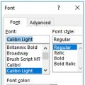 Change Default Font in MS Word feature image