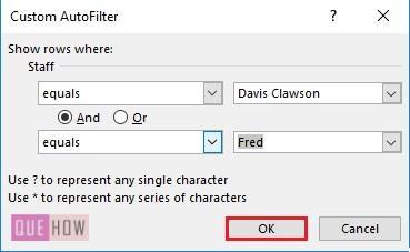 Filter in Excel - 7