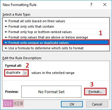 Highlight Duplicates in Excel-6