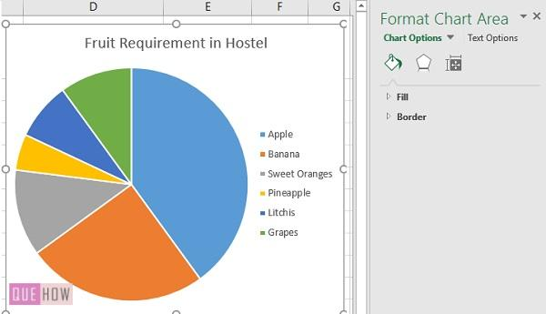 Pie Chart in Excel 10