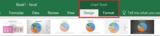 Pie Chart in Excel 11