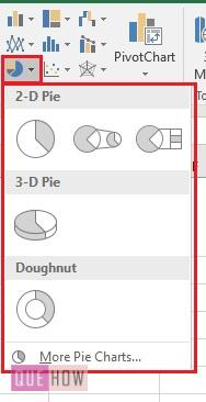 Pie Chart in Excel 3