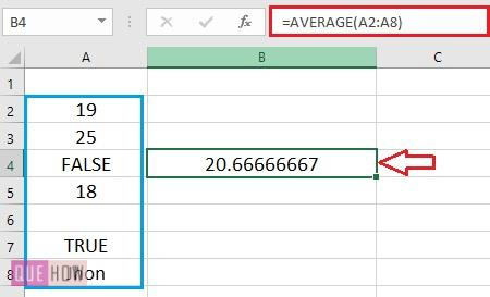 Calculate Average in Excel - 4.1