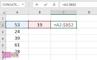 Subtract a Value from Values in range- 4