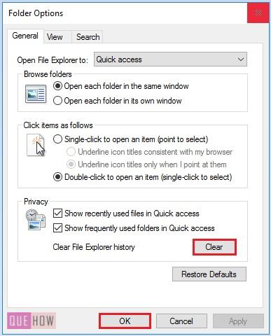 clear cache in windows 10 -12