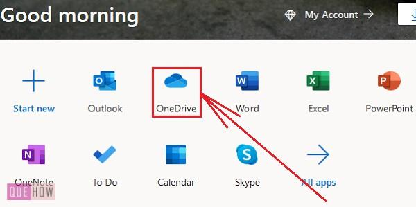Check OneDrive Storage 2