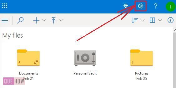 Check OneDrive Storage 3