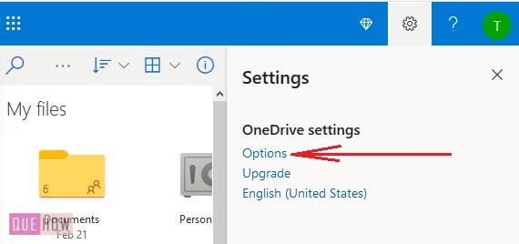Check OneDrive Storage 4