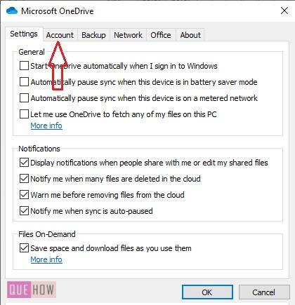 Check OneDrive Storage 7