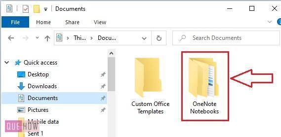 Delete a Notebook in OneNote 3