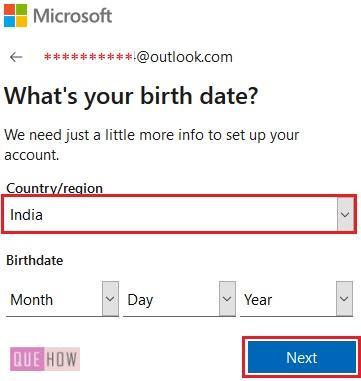 Outlook Account 6
