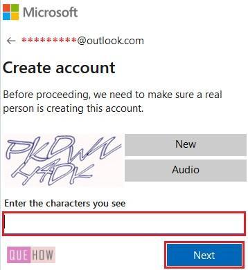 Outlook Account 7