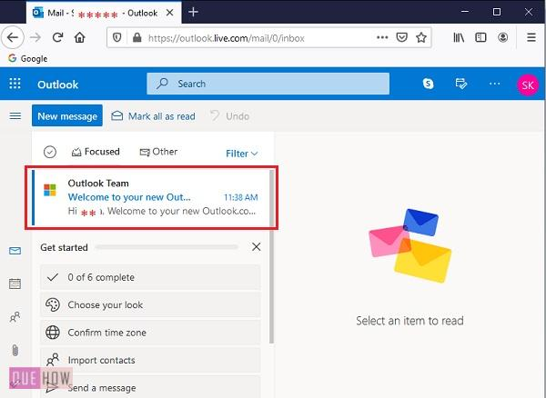 Outlook Account 8