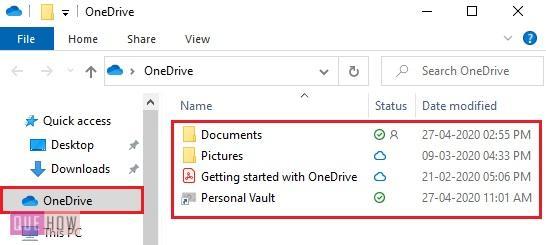 access onedrive offline 2