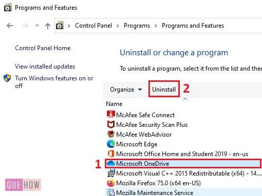 install OneDrive in Windows 10 - 1