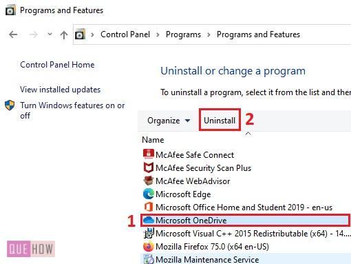 install OneDrive in Windows 10 - 1