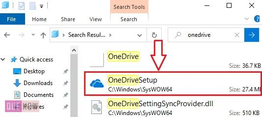 install OneDrive in Windows 10 - 3