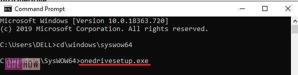 install OneDrive in Windows 10 - 6