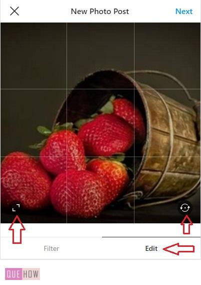 How to Post a Photo on Instagam-3